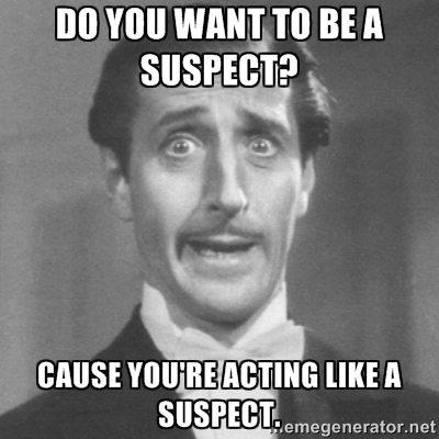 Investigation Suspect