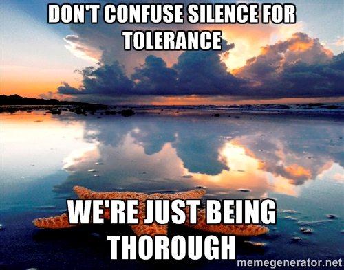 Investigation Tolerance