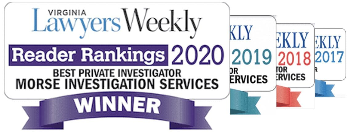 Virginia Lawyers Weekly Best Private Investigator